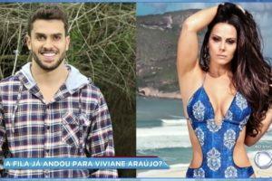 Viviane Araújo vive romance com ator Kainan Ferraz (Foto: Reprodução)