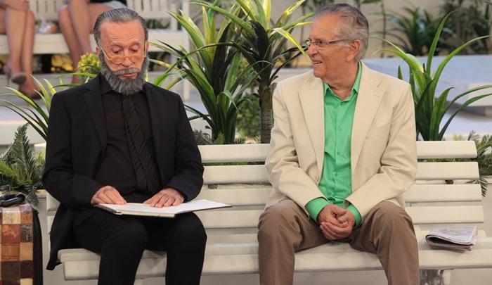 Moacyr Franco e Carlos Alberto de Nobrega