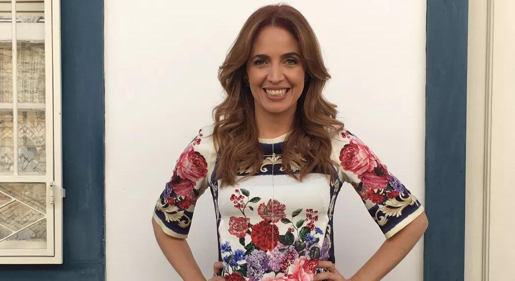 A jornalista Poliana Abritta (Foto: Rodrigo Albuquerque/TV Globo)