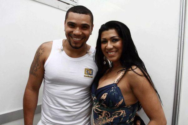 MC Naldo e Ellen Cardoso (Foto: Reprodução)