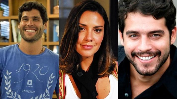 Dudu Azevedo, Camila Rodrigues e Guilherme Winter seriam os protagonistas de Topíssima na Record. (Foto: Reprodução)