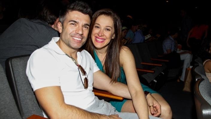Jarbas Homem de Mello e Claudia Raia. (Foto: Divulgação)