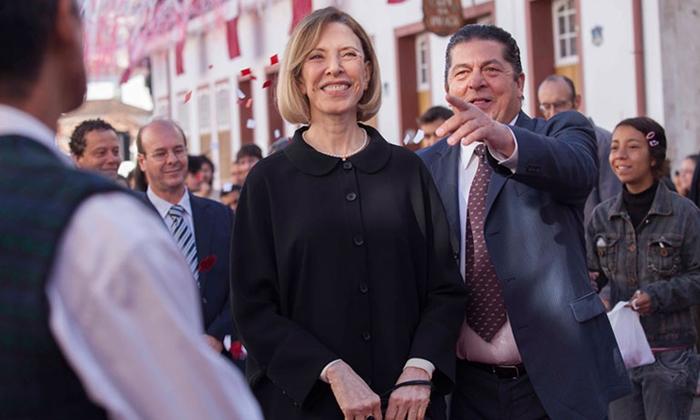 Marília Gabriela e Stepan Nercessian participam do filme Filhos de Bach. (Foto: Divulgação)
