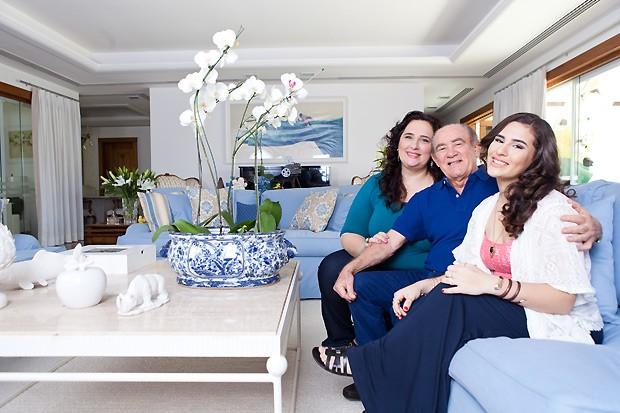 Renato Aragão e a família (Foto: Reprodução)