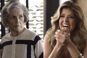 O que será que a mãe de Dom vai fazer depois dessa em Pega Pega? (Foto: TV Globo)