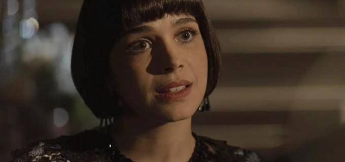 Sabrina Petraglia em cena de Tempo de Amar