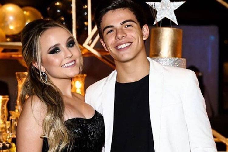 Thomaz e Larissa Manoela (Foto: Reprodução)