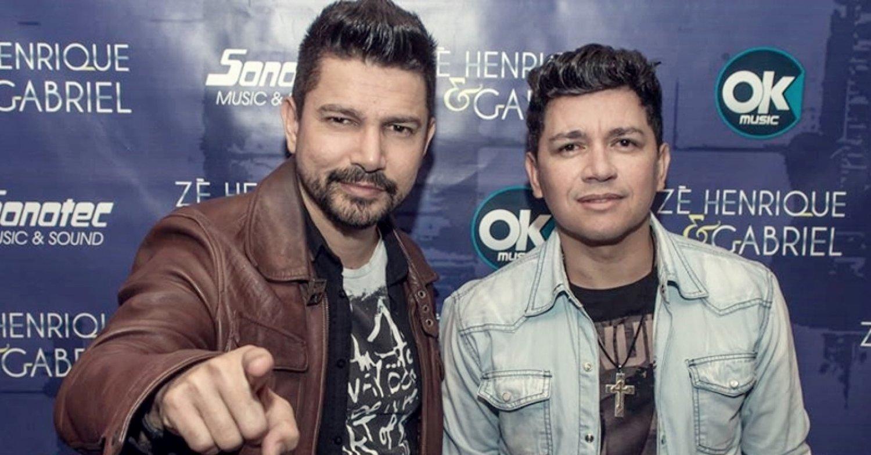 Zé Henrique e Gabriel (Foto: Reprodução)