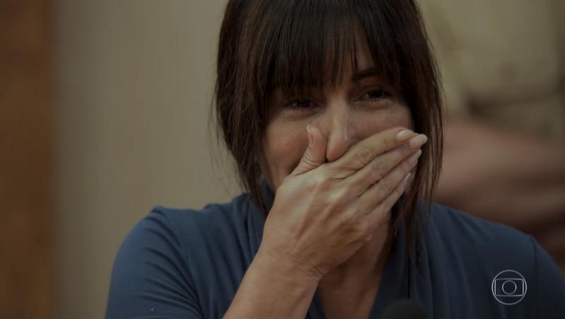Duda (Gloria Pires) em cena de O Outro Lado do Paraíso (Foto: Reprodução/Globo)