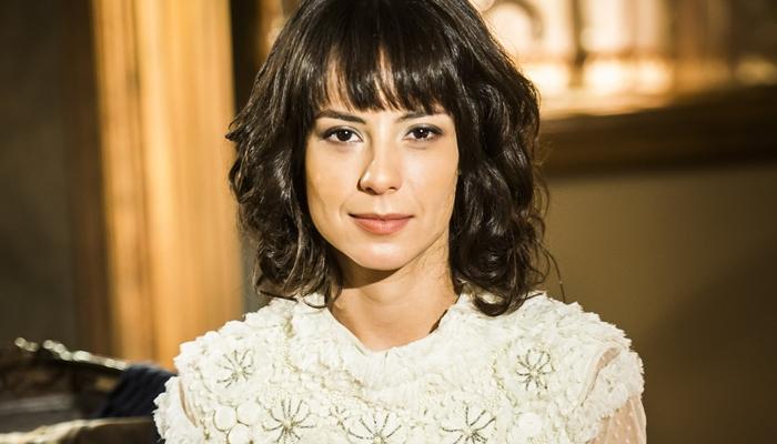 Lucinda (Andreia Horta) em Tempo de Amar (Foto: Globo/João Miguel Júnior)