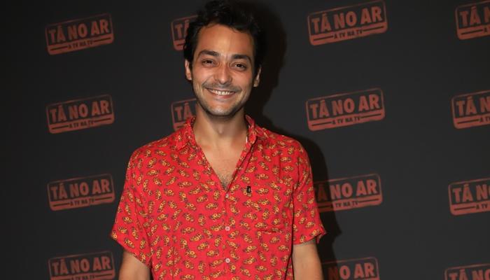 Eduardo Sterblitch no lançamento da quinta temporada do Tá no Ar (Foto: Globo/Paulo Belote)