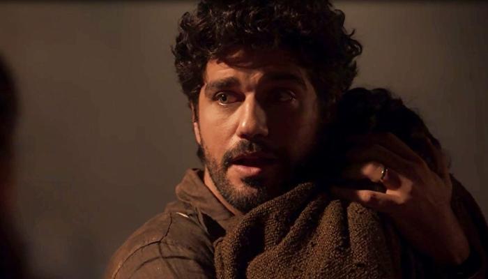 Inácio (Bruno Cabrerizo) em cena de Tempo de Amar (Foto: Divulgação/Globo)