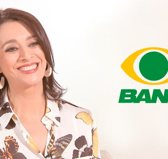 Cátia Fonseca é mais nova estrela da Band (Foto portal Alta Definição)