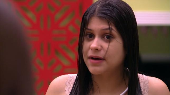Ana Paula na casa do BBB18 (Foto: Reprodução/Globo)