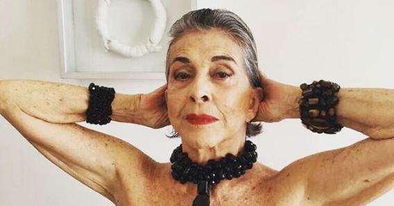 Famosa atriz da Globo, Betty Faria (Foto: Reprodução)