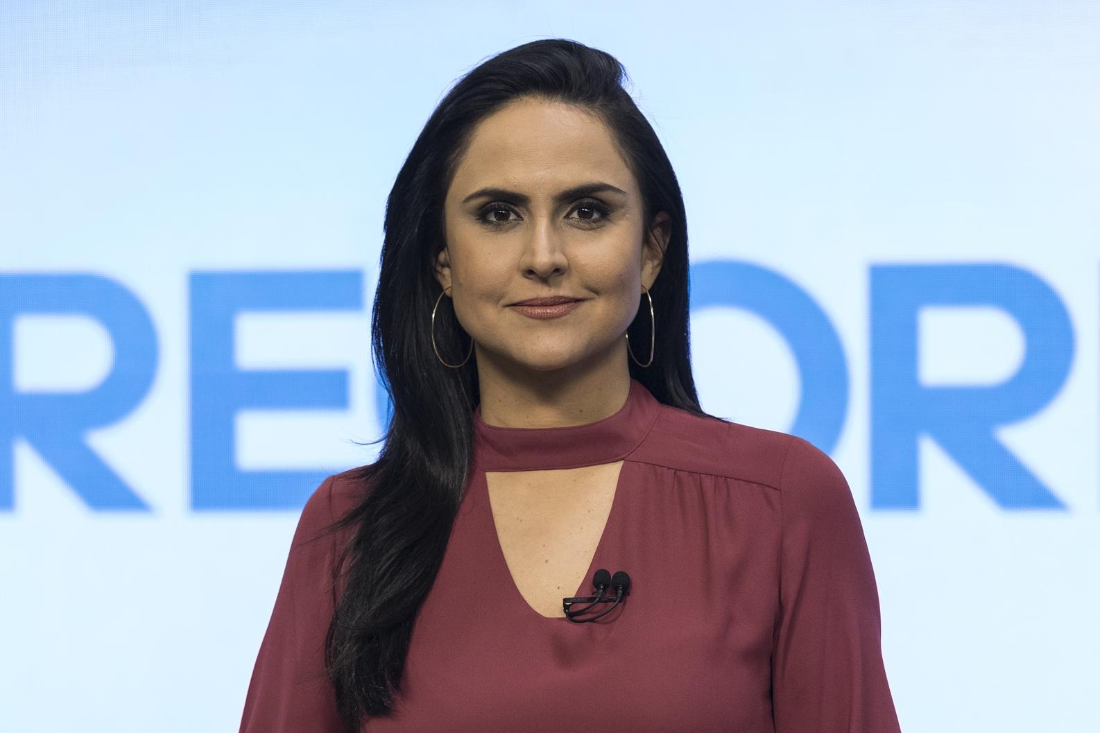 Carla Cecato, jornalista da Record TV (Foto: Divulgação)