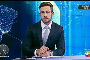 Jovem repórter estreia no SBT Brasil e faz sucesso na web