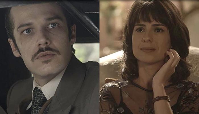 Fernão e Lucinda vão se unir nos próximo capítulos da novela Tempo de Amar. (Foto: Reprodução/Globo/Montagem/TV Foco)