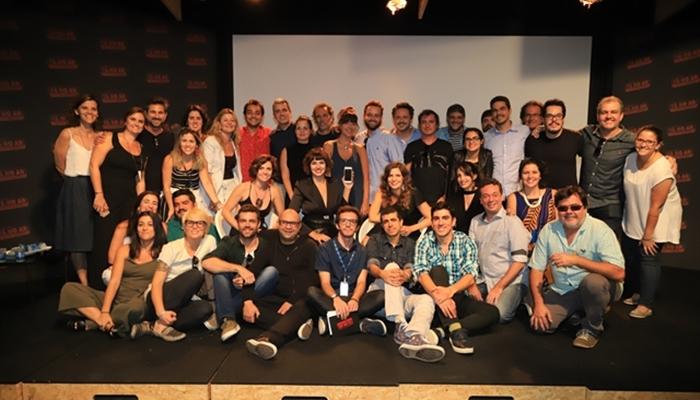Equipe da quinta temporada do Tá no Ar (Foto: Globo/Paulo Belote)