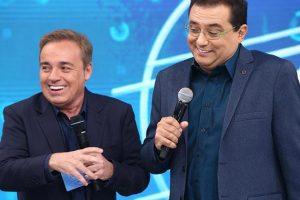 Gugu e Geraldo Luís (Foto: Divulgação/Record)