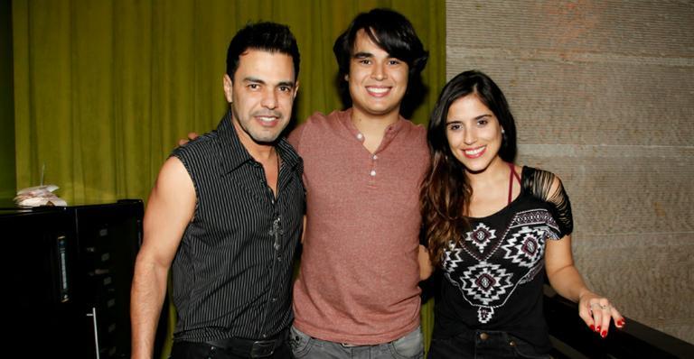 Zezé, Igor e Camila Camargo (Foto: Divulgação)