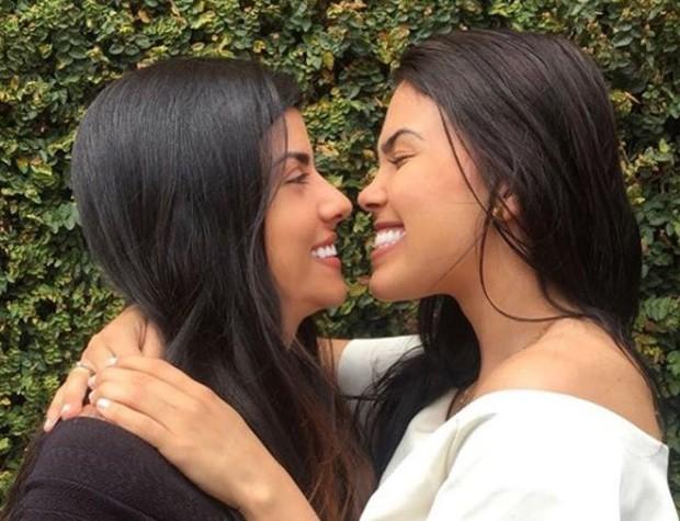 Karina Barros e Camila Benfica (Foto: Reprodução/Instagram)