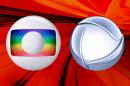 Logo da Globo e Record (Foto: Divulgação/Montagem TV Foco)