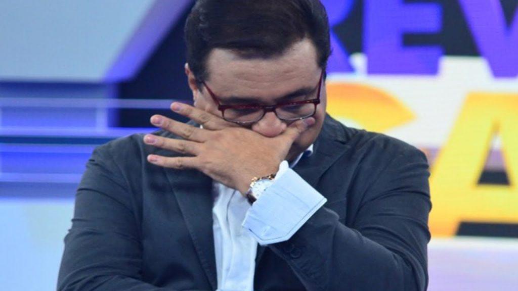 Geraldo Luís apresenta o Domingo Show (Foto: Divulgação)