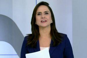 Record Cecato. Foto do site da O TV Foco que mostra Após extinção do SP Record, confira a atitude de Carla Cecato com a equipe