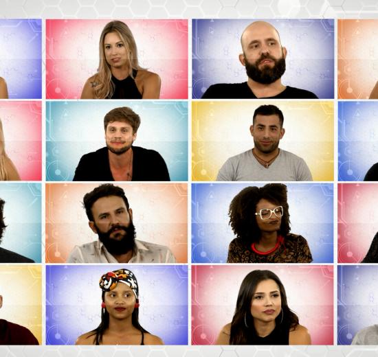 Todos os participantes do BBB18 (Foto Gshow)