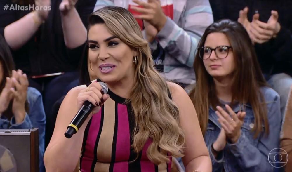 A cantora Naiara Azevedo (Foto: Globo)