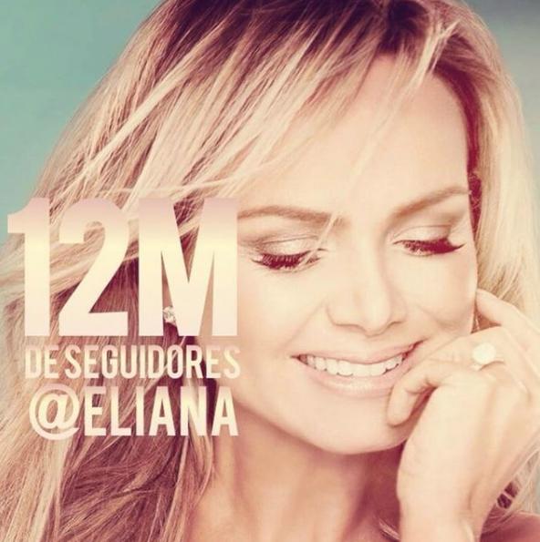 Eliana alcança 12 milhões no Instagram