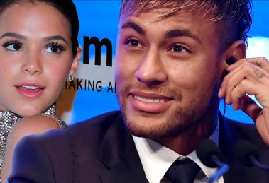 Neymar e Bruna Marquezine (Foto: Divulgação/Montagem/TV Foco)