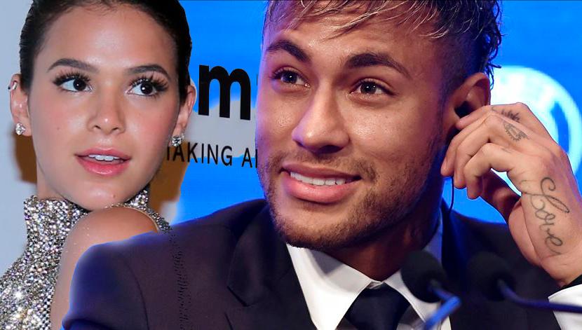 Neymar deixa comentário carinhoso em foto de Bruna Marquezine:
