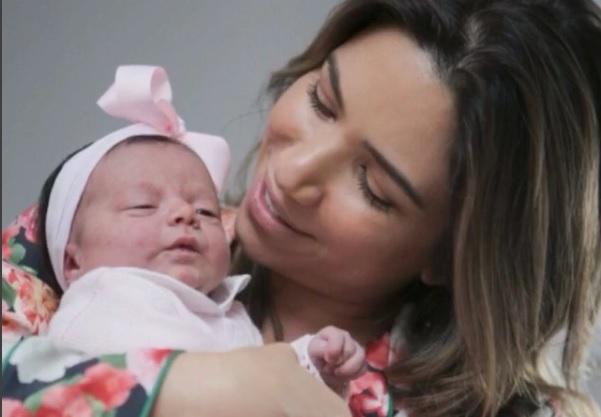 A apresentadora Patricia Abravanel e a filha Jane. (Foto: Reprodução/Instagram)