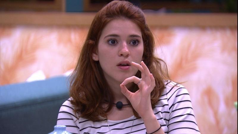 Ana Clara odiou a dupla com o pai no BBB18 (Foto: Reprodução)