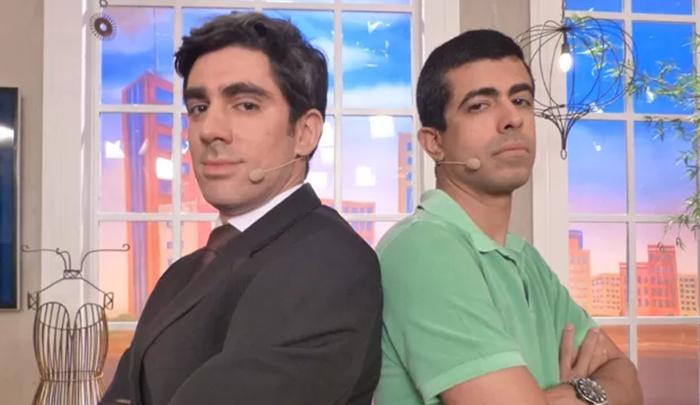 Marcelo Adnet e Marcius Melhem estrelam o Tá no Ar. (Foto: Reprodução)