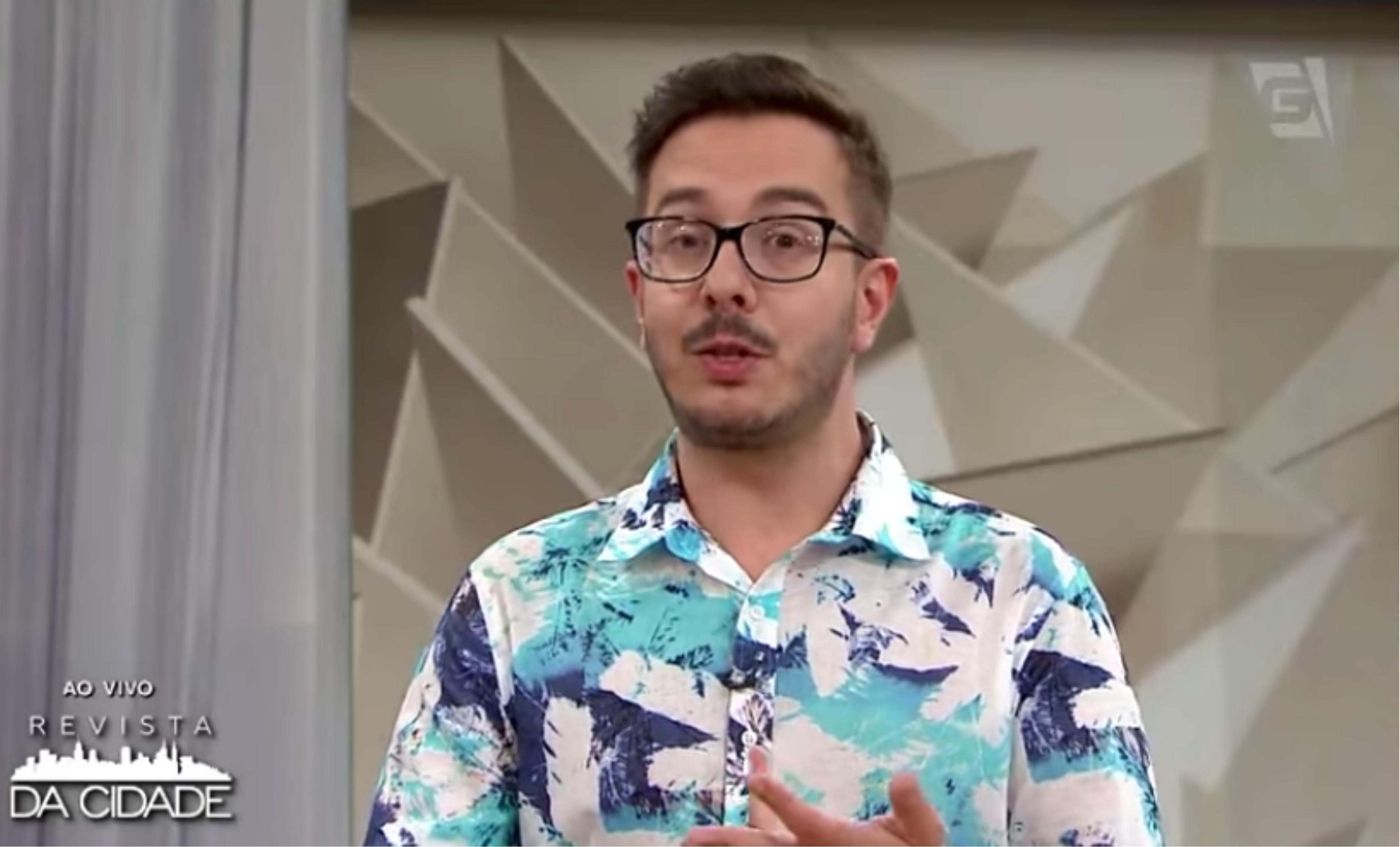 Responsável por uma das maiores audiências na Gazeta, André Mantovanni pede demissão da emissora (Foto reprodução)