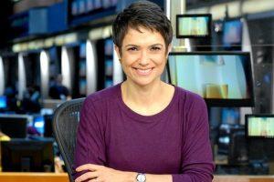 Hoje é aniversário jornalista Sandra Annenberg (Foto: Divulgação/Globo)