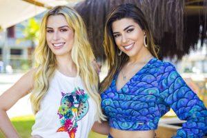 Fernanda Keulla. Foto do site da O TV Foco que mostra ExBBBs Fernanda Keulla e Vivian Amorim se preparam para retornar à TV como repórteres