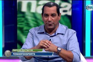 Ex-jogador, Zinho é comentarista da FOX Sports (Foto: Reprodução)