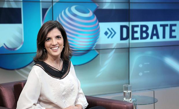 Andressa Boni assume o Jornal da Cultura (Foto: Reprodução)