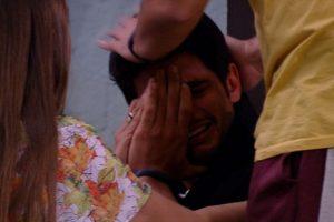 Lucas teve crise de choro após a saída de Nayara do BBB18 (Foto reprodução)