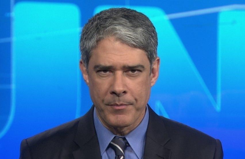 O jornalista da Globo William Bonner .(Foto: Reprodução)