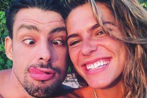 Mariana Goldfarb e Cauã Reymond. (Foto: Reprodução)