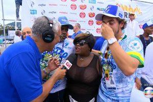 A cantora Jojo Toddynho em entrevista à Globo (Foto: Reprodução/Globo)