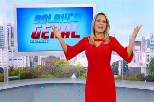 Audiencia Record. Foto do site da O TV Foco que mostra Apresentado por mulher de pastor, Balanço Geral Especial estreia perdendo para o SBT