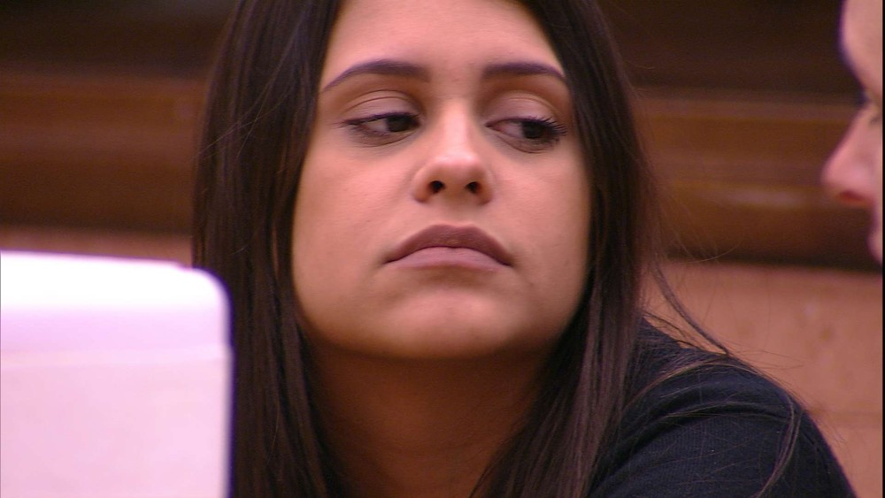 Ana Paula no BBB18 (Foto: TV Globo)