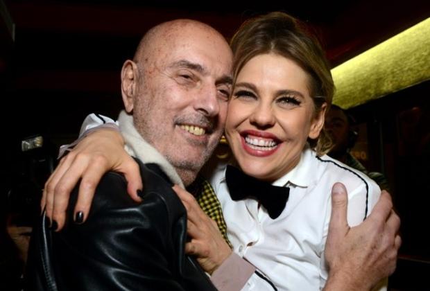Bárbara Paz e Hector Babenco (Foto: Reprodução)