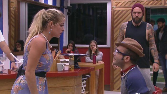 Ana Paula impulsionou a briga entre Jaqueline e Mahmoud (Foto: Divulgação/Globo)